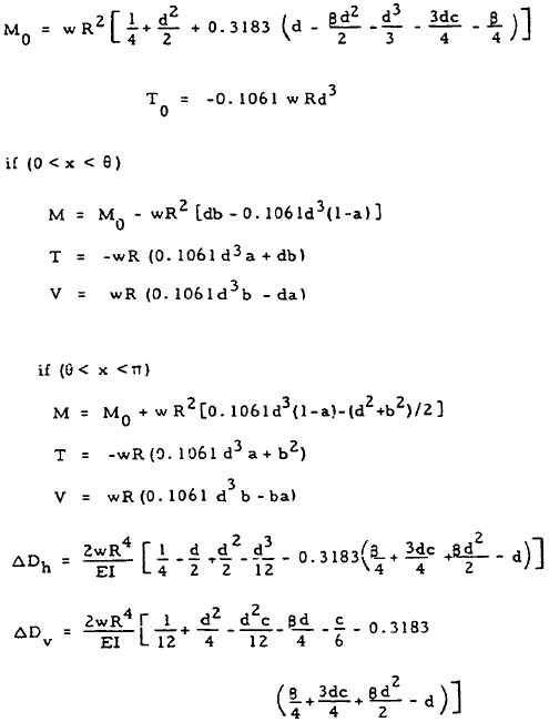 Closed Circular Ring Formulas, Case 10