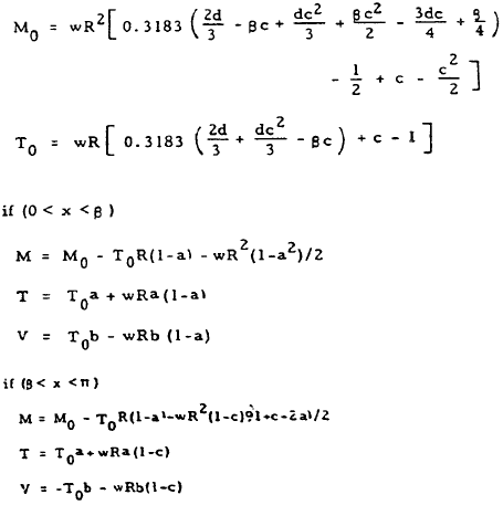 Closed Circular Ring Formulas, Case 13