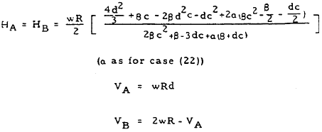 Closed Circular Ring Formulas, Case 23